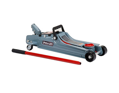 Pro-Lift F-767 Floor Jack Grey Low Profile - 2 Ton Capacity Car Lift CLEARANCE