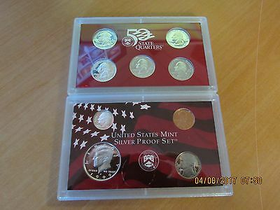 1999 United States Mint SILVER Proof Uncirculated Coin Set- No Reserve!