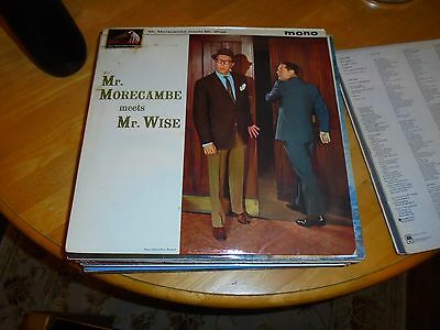 Lp/ Moecambe And Wise /mr.morecambe Meets Mr.wise (1964 Original Uk Hmv Mono