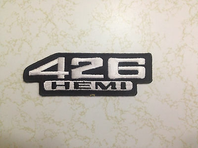 Hemi 426 Patch Dodge Scat Pack,Plymouth Mopar,Super bee,Challenger,Charger,Cuda