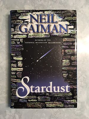 "Neil Gaiman ""Stardust"" Signed First Edition Hardcover Autographed 1st"