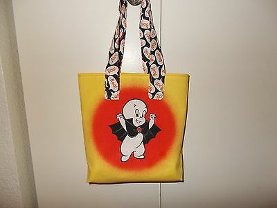 Childs Holiday Homemade Halloween Treat or Treat Bag Casper The Friendly Ghost