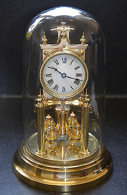 Gustav Becker Anniversary 400-Day Clock with rare Indexed Adjuster
