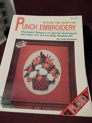 Nice Beyond The Basics Of Punch Embroidery By Linda Brohman
