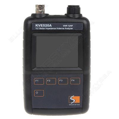KVE520A VU Vector Color Graphic Impedance Antenna Data Analyzer VHF/UHF 2-Band