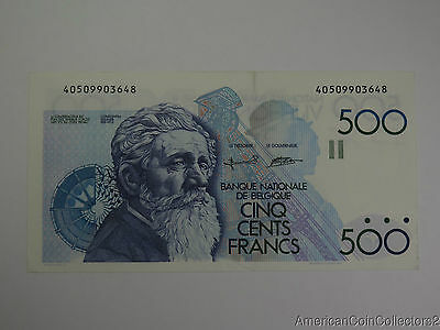 Belgium Banknote 500 Francs 1982-98 | Take a Look AU | 6339