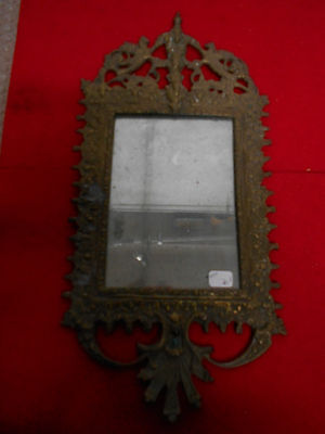 MIRROR BRONZE OLD TO HANG DECO OLD / ANCIENT 19th REF11993