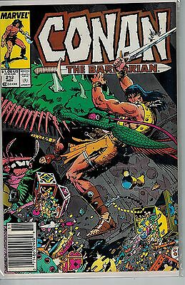 Conan The Barbarian - 212 - Marvel - November 1988
