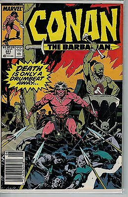 Conan The Barbarian - 221 - Marvel - August 1989
