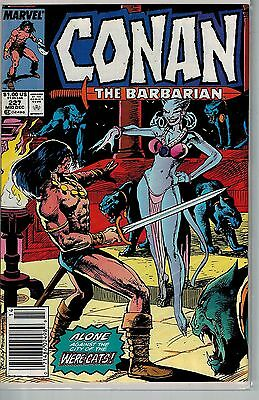 Conan The Barbarian - 227 - Marvel - Mid December 1989