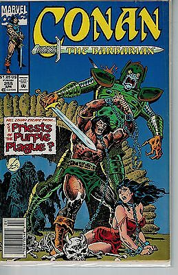 Conan The Barbarian - 255 - Marvel - April 1992