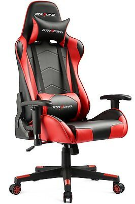 GT Racing Executive  Gaming Chair PU Leather High Back Chair Office chair Red