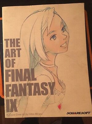 The Art of Final Fantasy IX art book, Yoshitaka Amano