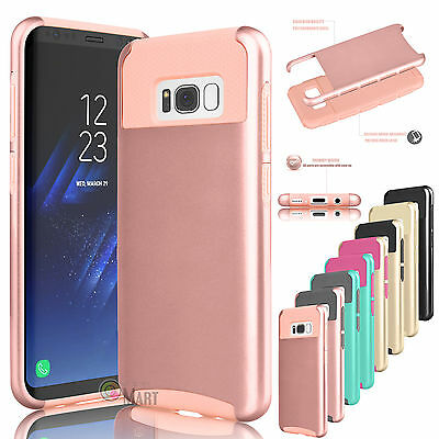 For Samsung Galaxy S8+ Plus / S8 Phone Case Shockproof Hybrid Rugged Hard Cover
