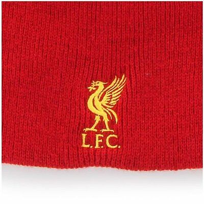 Liverpool FC 47 Beanie Yellow on Red