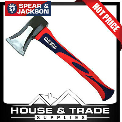 Spear & Jackson Splitter Hatchet 2LB Fibreglass Handle SJ-ASFG20