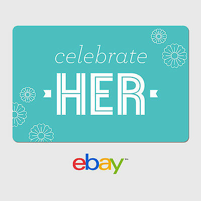 eBay Digital Gift Card - Happy Mother's Day Celebrate Her - Fast Email Delivery