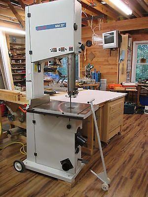 "Mini Max  MM 20"" Bandsaw.(Please see description)."