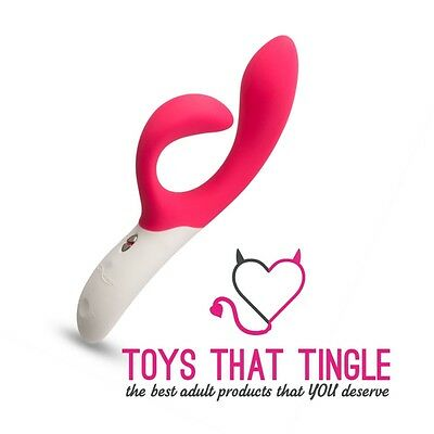 NEW We-Vibe Nova Pink Rabbit Vibrator Rechargeable We Vibe with App