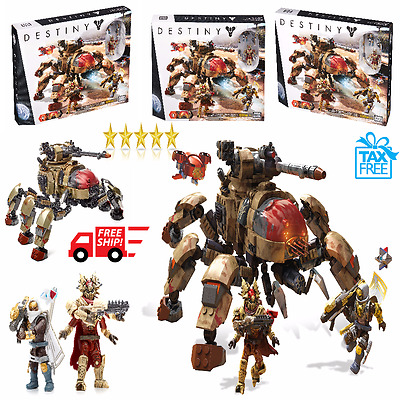 Mega Bloks Destiny Figure Fallen Walker Set New Action Figures Building