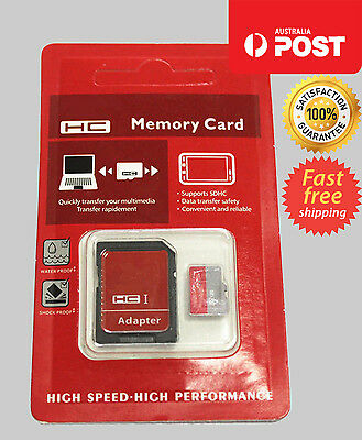 256GB microSD SDXC SDHC Upgrade Flash Memory Card Class 10 Micro SD FREE Adapter