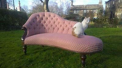 A Stunning 19th Century Chaise Longue / Sofa
