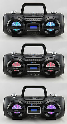 Radio Cd-Mp3/sd/usb/bluetooth Ghettoblaster Boom Box - Ah234Bt/mp3/usb Majestic