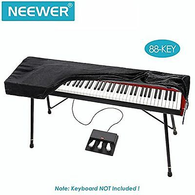 Neewer? Keyboard Dust Cover for 88 Key Keyboards (Dimension: 55.1*19.7*5.5inc...
