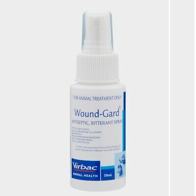 Wound-Gard Antiseptic and Bitterant Spray for Cats & Dogs 50ml