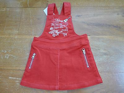 BNWT DKNY red baby girl skirt/dress size 6 months
