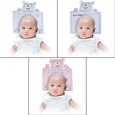 Newborn Baby Infant Pillow Support Neck Cushion Anti-Flat Head Soft Pad Cotton U