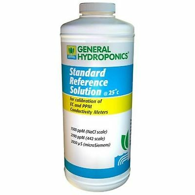 General Hydroponics 1500 PPM Calibration Solution for Gardening, 8-Ounce