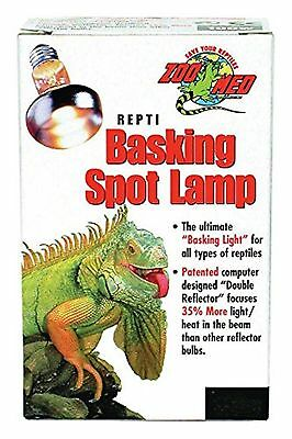 Zoo Med Reptile Basking Spot Lamp, 150-Watt, assorted package