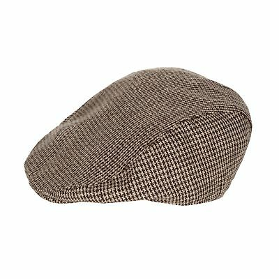 J By Jasper Conran Kids Designer Babies Brown Tweed Flat Cap From Debenhams