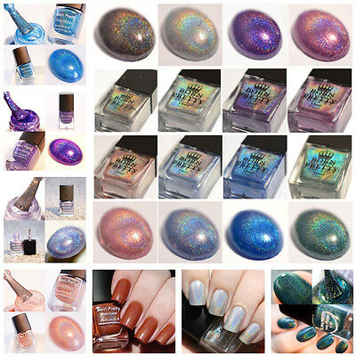 BORN PRETTY Nail Polish Holographic Nail Art Manicure Glitter Varnish 6/10ml