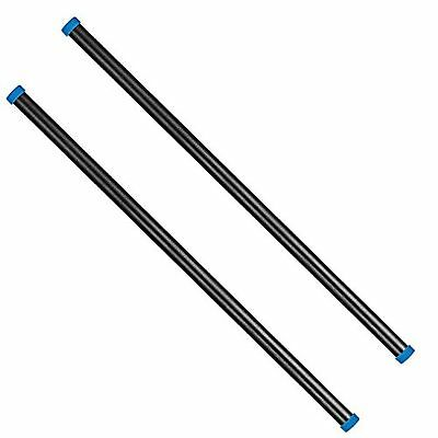Neewer? 2 Pieces 15.7inch/40cm Length 15mm Aluminum Alloy Rod Set for 15mm Ro...