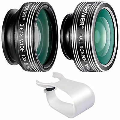 Neewer 3-in-1 Clip-on Lens Kit for Android Tablets,ipad,iphone,Samsung Galaxy...