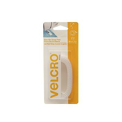 Velcro(r) Brand Fasteners Snag-Free Sew On Tape 3/4-Inchwide 18-Inch, White