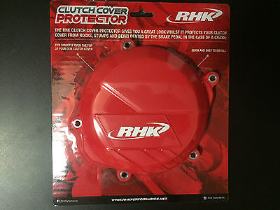 Honda CRF450R 2009 2010 2011 2012 2013 2014 Red Clutch Cover Protector CCP-2