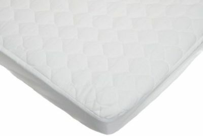 American Baby Company 2760-WT Waterproof Fitted Quilted Cradle Mattress Pad (...