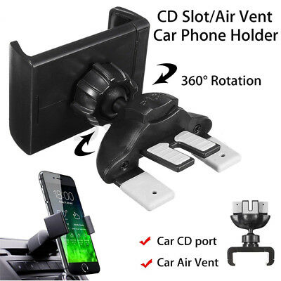 Universal CD voiture Fente TéléPhone Montage Support Stand support