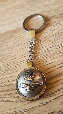 Necklaces Vintage Old Button Silver Bird Best Gift Keychain Coin Pendant Leather