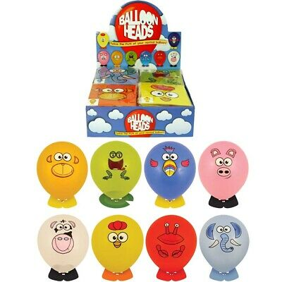 Balloon Heads Animal Stickers Party Loot Bags Pocket Money Toy Piñata Fillers