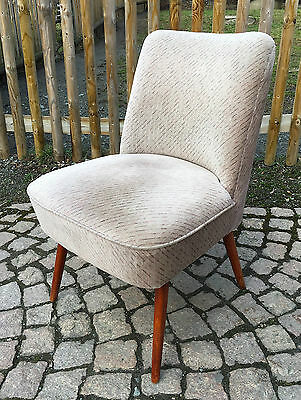 1/3 MID CENTURY COCKTAIL SESSEL BROKAT EASY CHAIR.ROCKABILLY AERA 50s 50er 60s