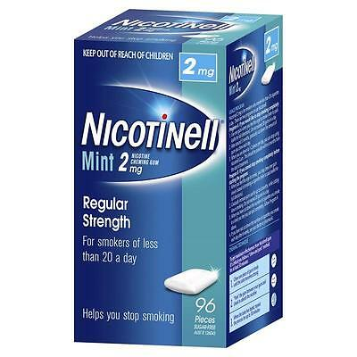 Nicotinell Mint 2mg Medicated Chewing Gum - 120 Pieces -  Exp 04/2016