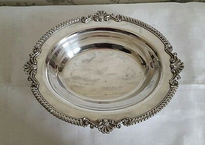 A Lovely Vintage Silver Plated Bowl by Harrods London