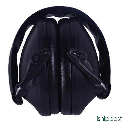 New Electronic Hearing Protection Shooting Earmuffs for Hearing Sound  Black