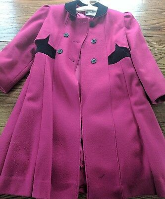 Girls size 8 winter coat Rothschild Made in USA