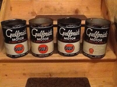 GULF OIL CANS...collectables