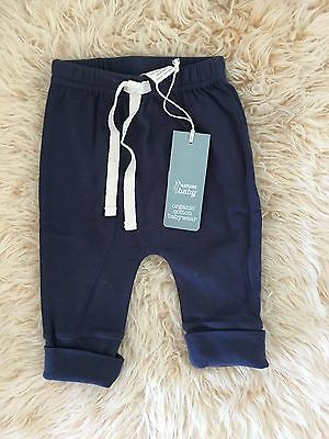 BNWT Nature Baby Organic Pants 0-3 Months